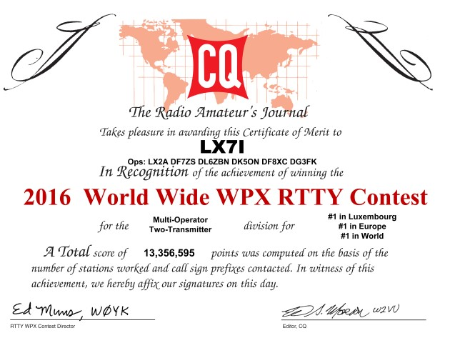 CQ WPX RTTY Contest